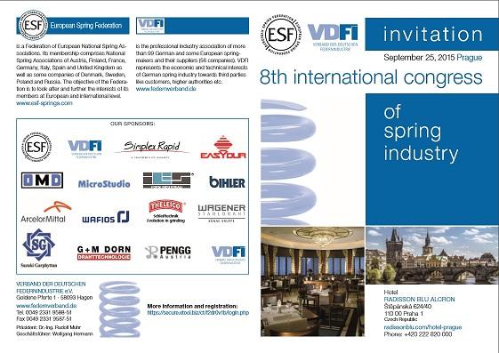 8° Convegno Internazionale ESF